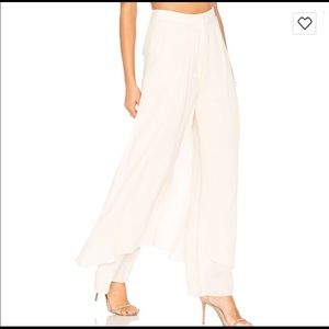 651c92e365e C meo Cameo Coll. White Jumpsuit Breaking Hearts.  55  181. Brand NEW! The  STEP ASIDE PANT By C meo Collective